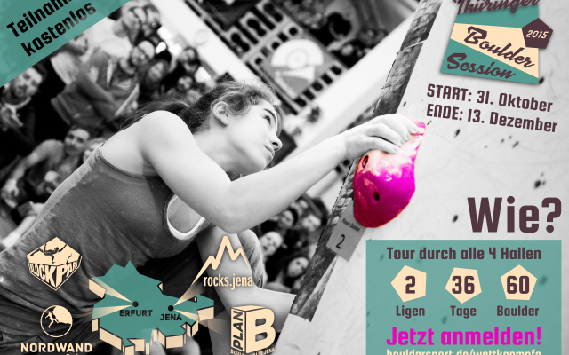 Thüringer Boulder Session 2015