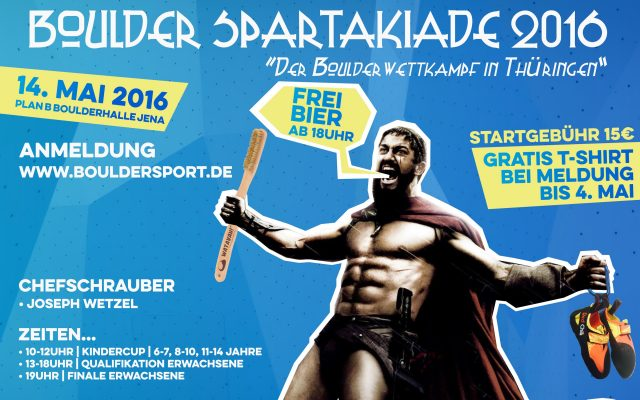 Boulder Spartakiade 2016