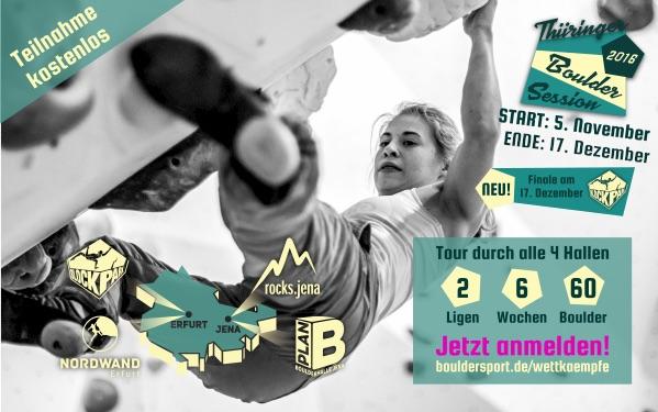 Thüringer Boulder Session 2016