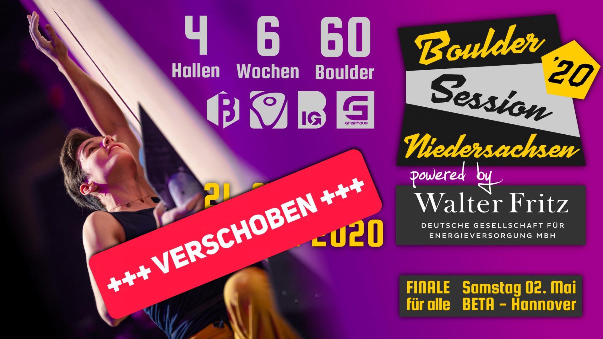 Boulder Session Niedersachsen 2020