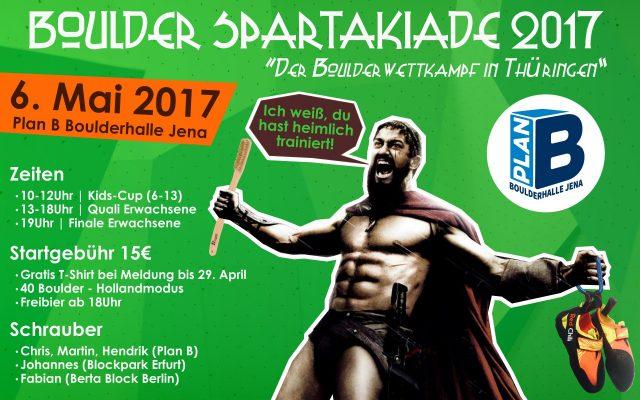 Boulder Spartakiade 2017
