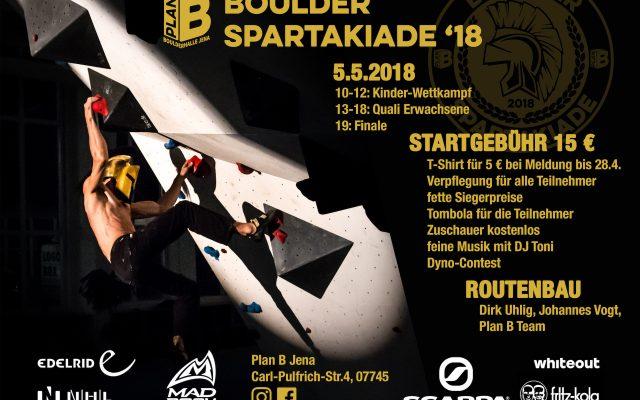 Boulder Spartakiade 2018