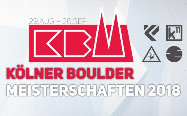 Kölner Bouldermeisterschaft 2018