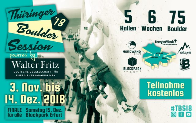 Thüringer Boulder Session 2018