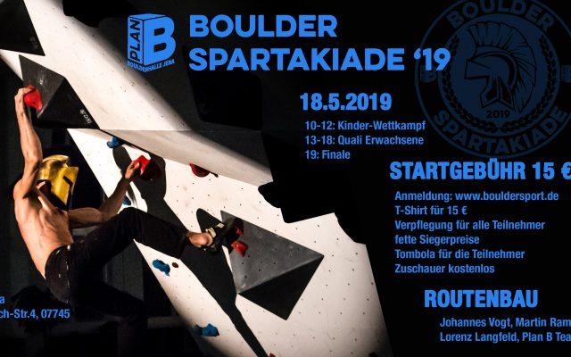 Boulder Spartakiade 2019