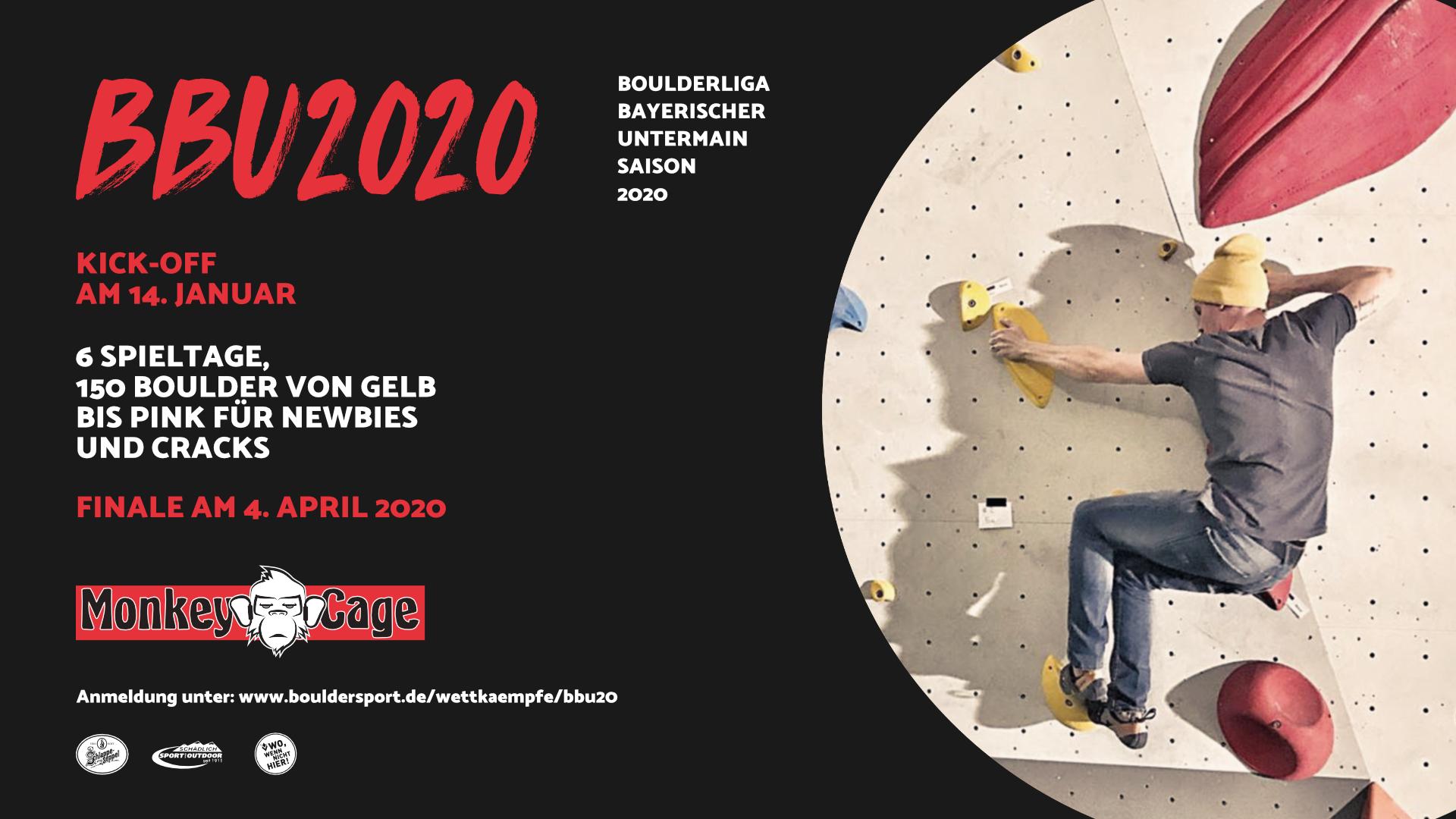 Boulderliga Bayerischer Untermain 2020